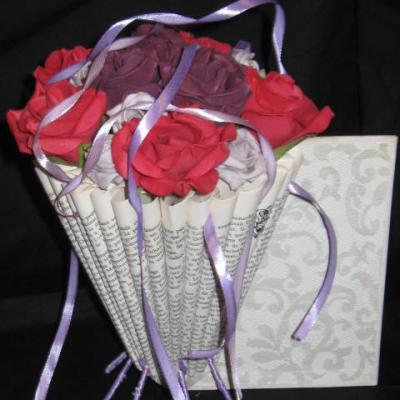 Roses et rubans